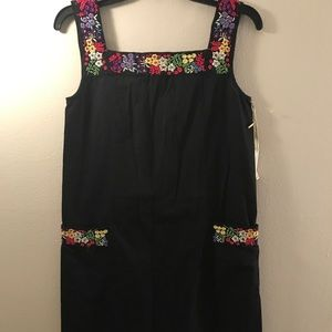 NWT Beautiful embroidered dress